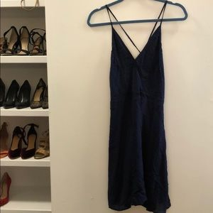 New with tags navy sundress